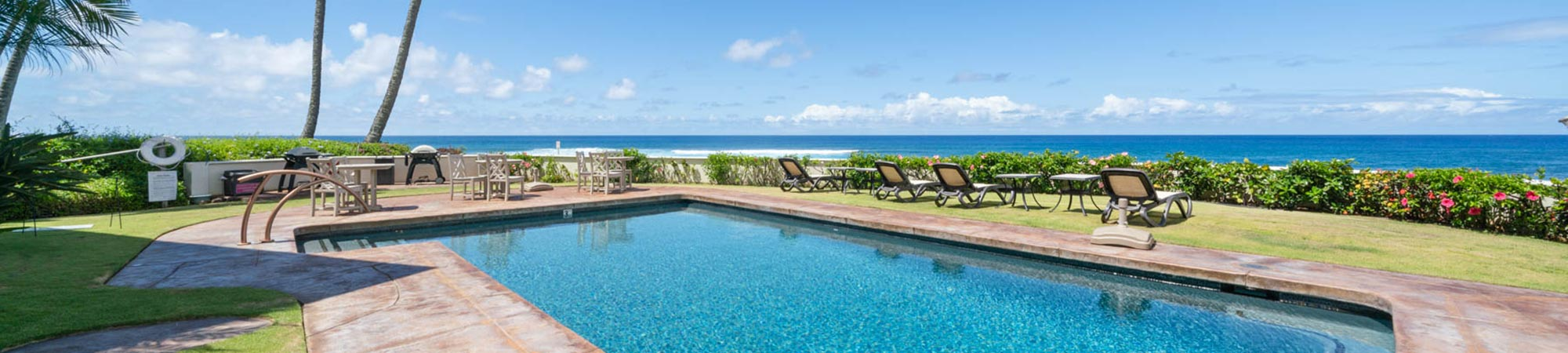 Alihi Lani vacation rental oceanfront pool